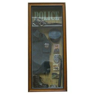 Police Shadow Box Shop Hobby Lobby Shadow Box Art Craft Store Shadow Boxes