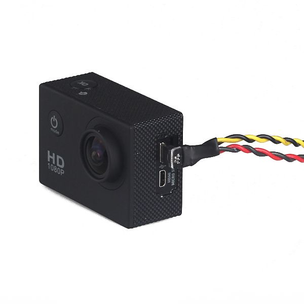 SJ4000 SJ6000 SJ7000 SJCAM M10 XiaoMi XiaoYi Camera AV Video Output And Charging Cable
