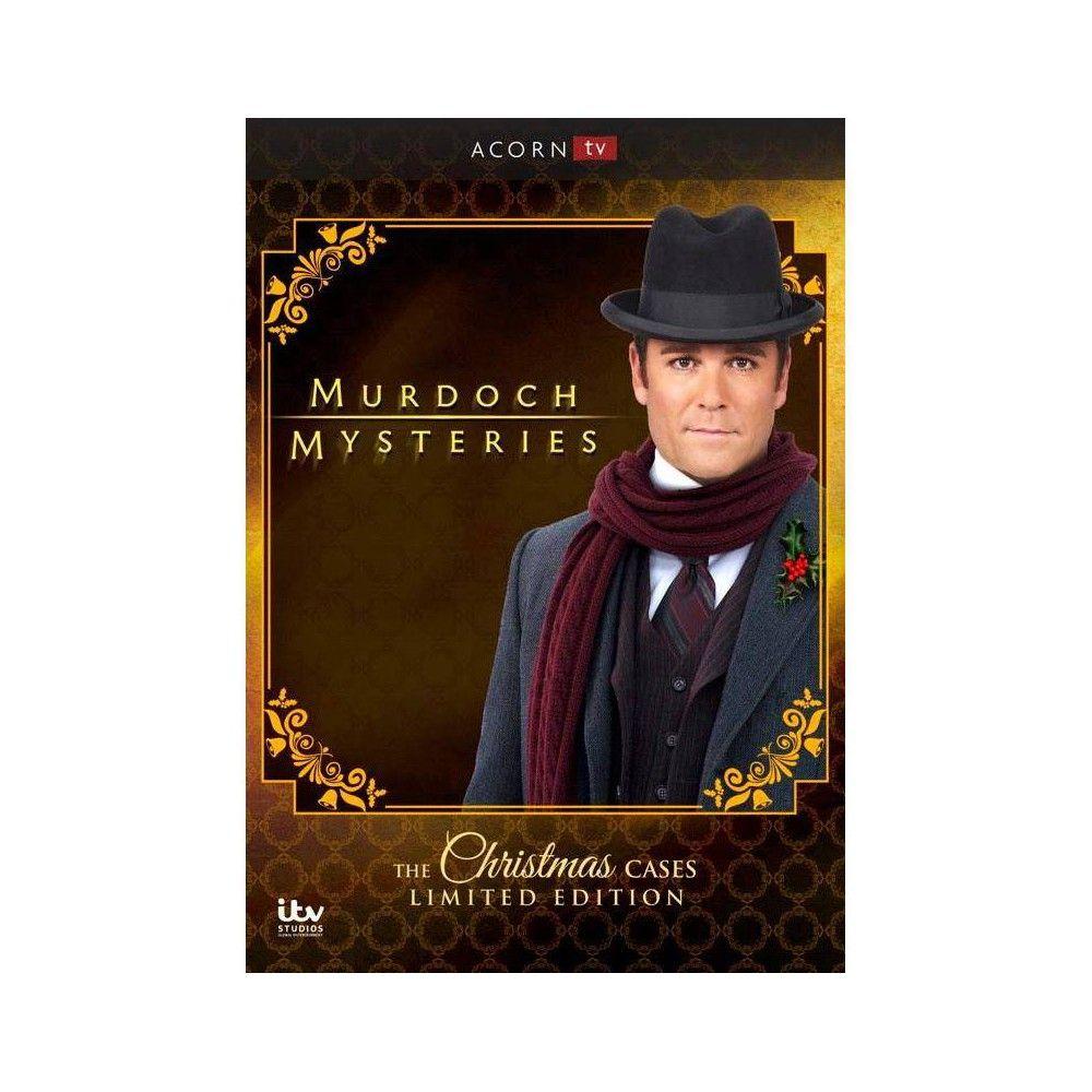 Murdoch Mysteries Christmas Special 2020 Murdoch Mysteries: Christmas Cases (DVD)(2018) in 2020 | Murdoch