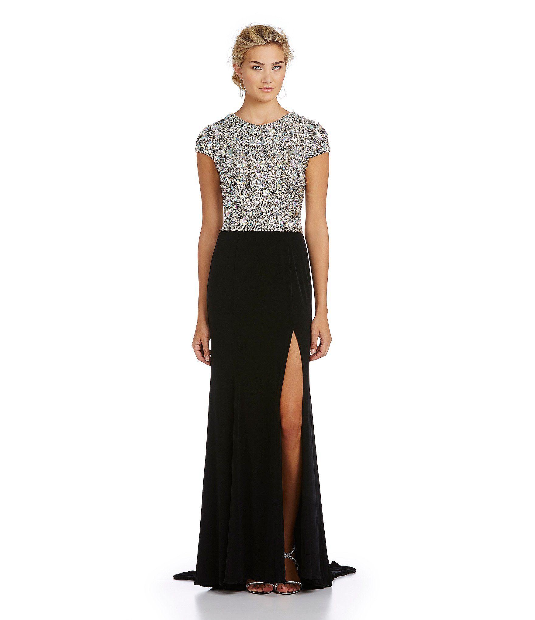 Terani couture beadedbodice gown dillards wedding pinterest