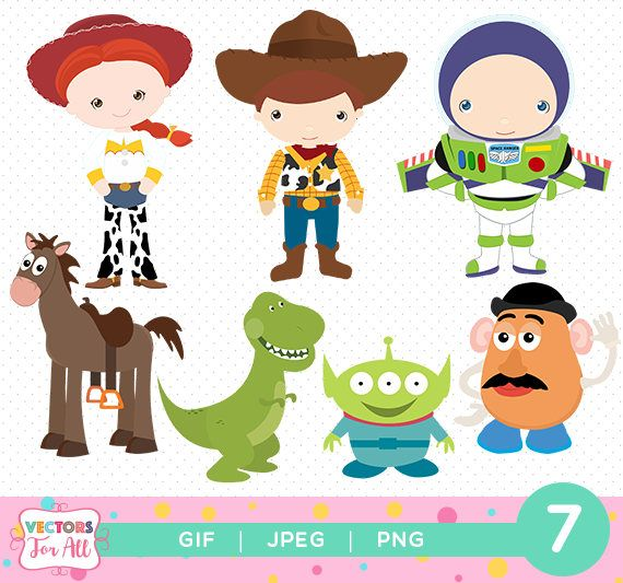 Toy Story Cliparts Pack Toy Story Gif Png Jpg Files Disney Disney Toys Toy Story Party Toy Story