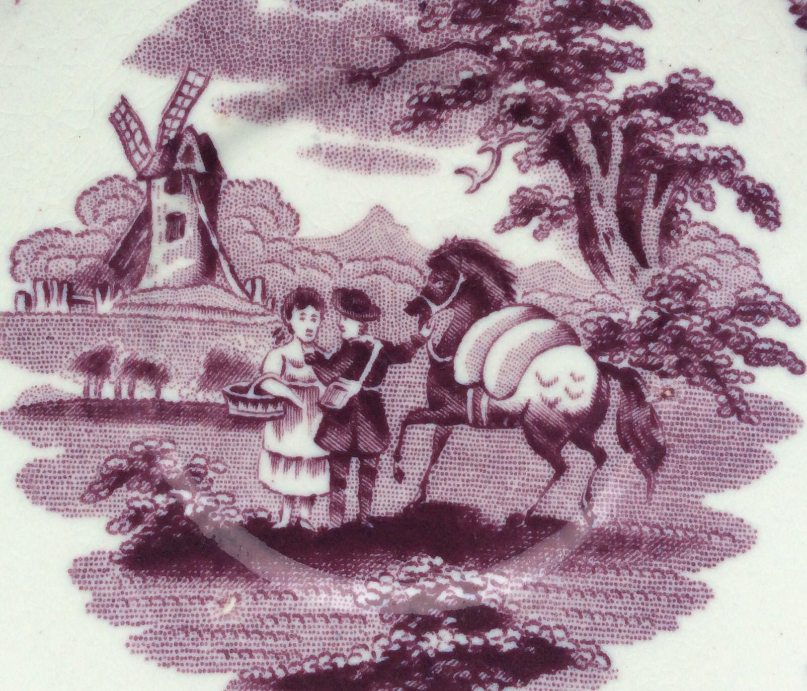 Petrus Regout - Packhorse (detail)