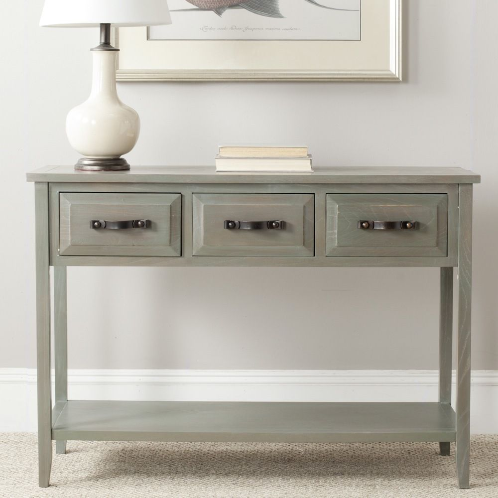 Safavieh aiden antique grey console table overstock shopping safavieh aiden antique grey console table overstock shopping great deals on safavieh coffee geotapseo Images
