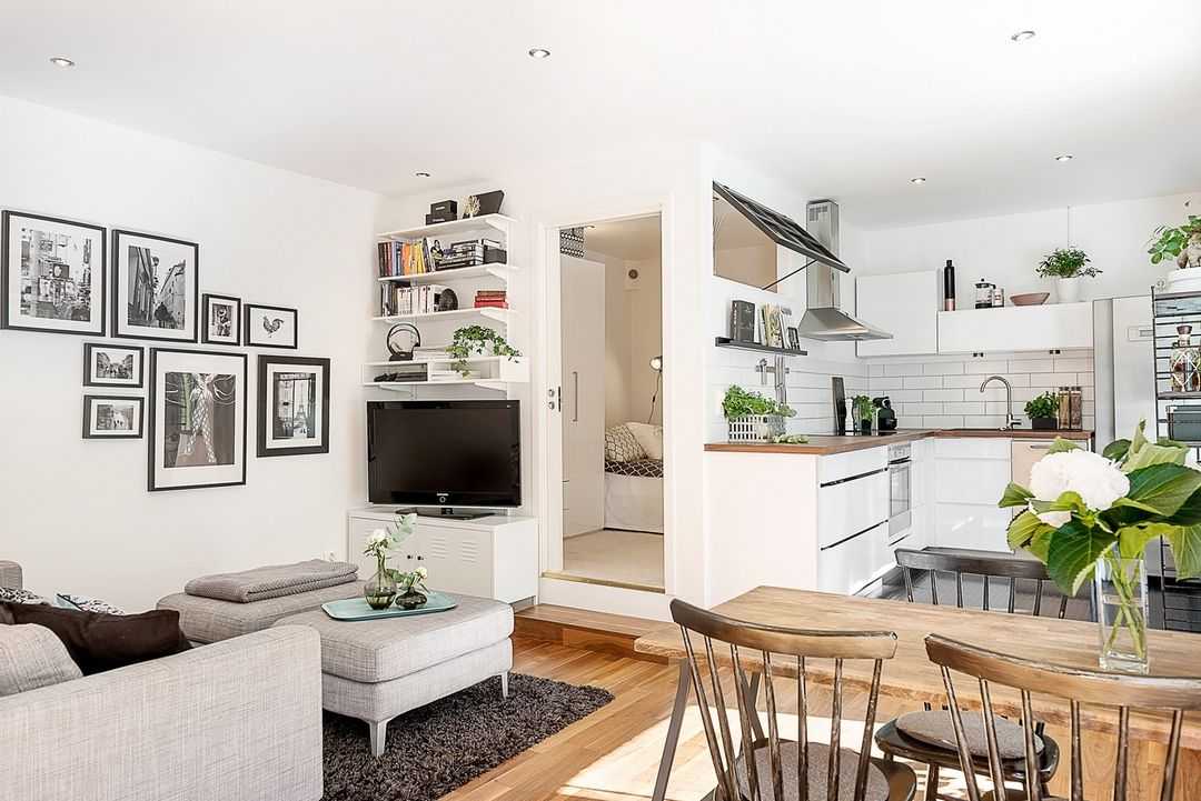 Un petit espace qui ne perd pas de place petit espace for Arredare casa 50 mq