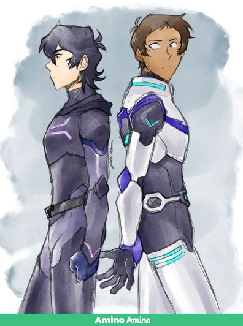 lance is trying to reach out to him, but keith is just pushing them
