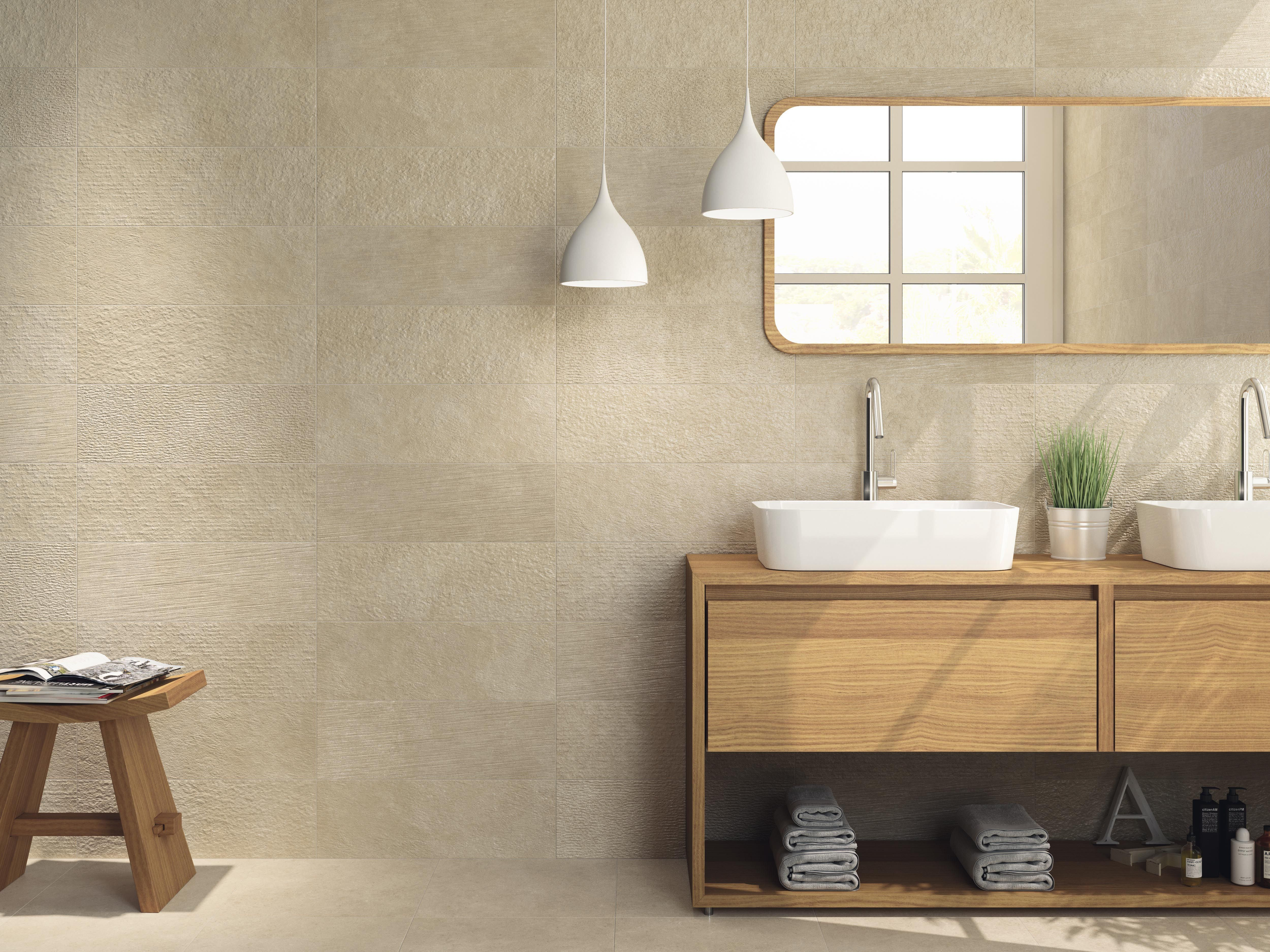 Elements Collection  Colorker #Colorker #Bath #Tiles #Whitebody #Stoneeffect #Decor