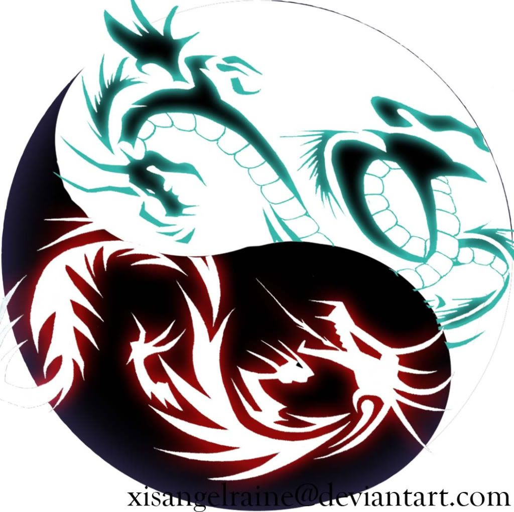 Dragon Yin And Yang