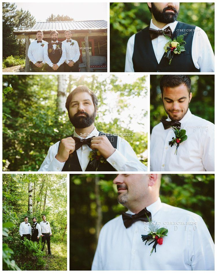 Port Bow Ties | Saffron and Grey | Crave tassles | Simply Gypsy Events | Brule River Wedding and Event Center | Duluth Wedding Photographer, Mad Chicken Studio