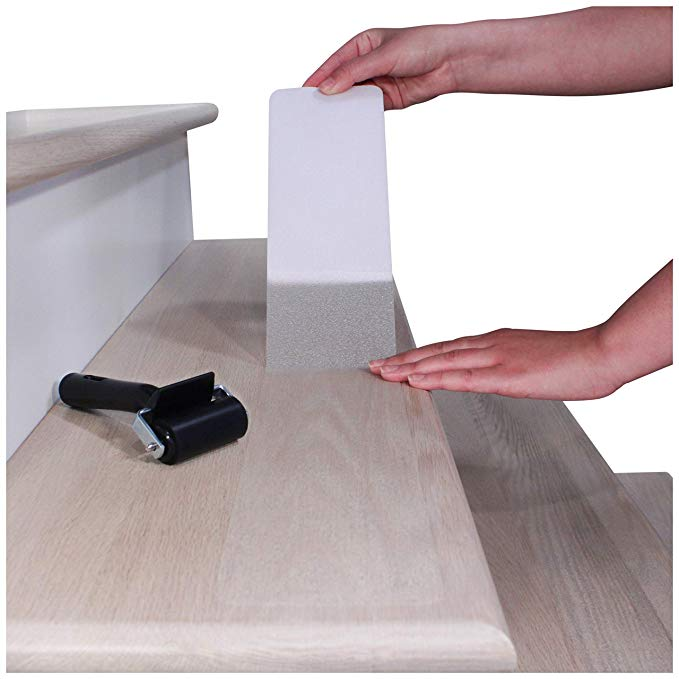 """32""""x4"""" NonSlip Stair Treads Tape (15Pack) Clear Anti"""