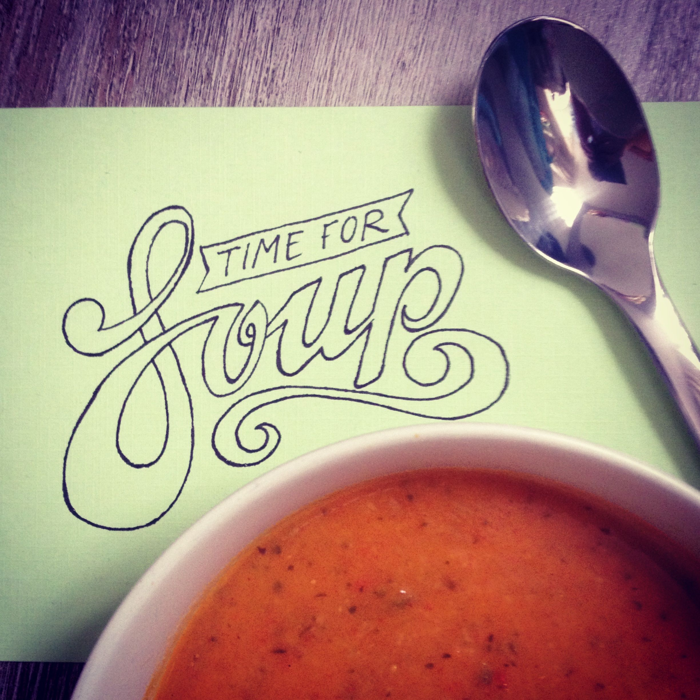 Time for soup