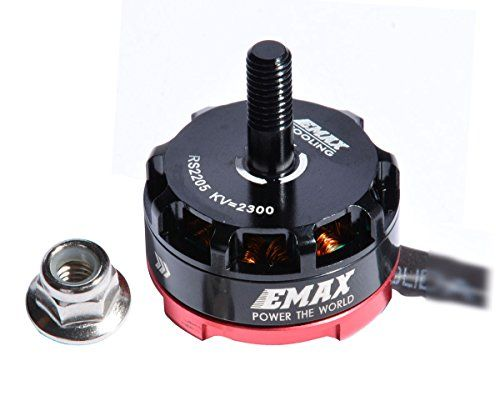 Crazepony EMAX RS2205 2300KV Brushless Motor CCW for QAV250 QAV300 FPV Racing Quadcopter * Check this awesome product by going to the link at the image.