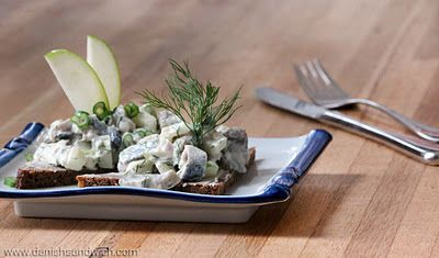Skagen Sild: A great way to enjoy pickled herring | Danish Open Sandwiches (Smørrebrød)