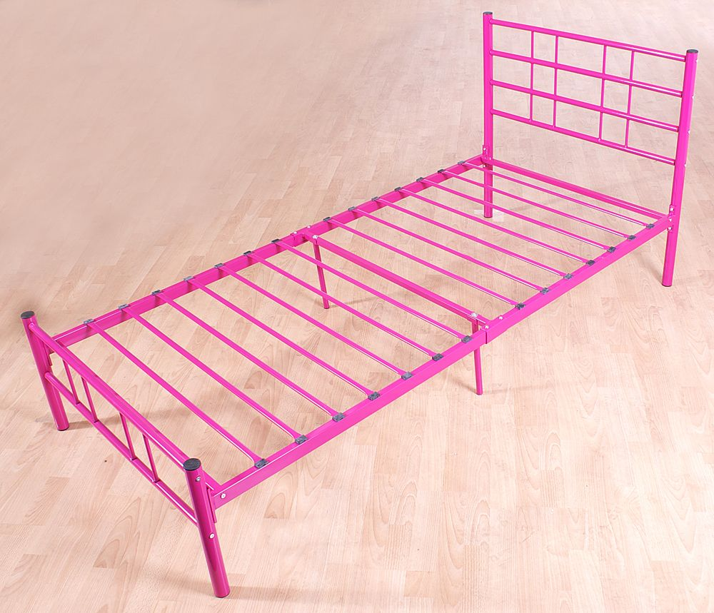 Beautiful Pink Bed Frame Designs Collection For Girls Room Cute