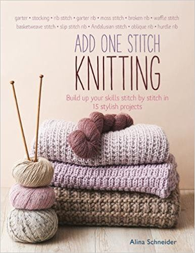 Add one stitch knitting book
