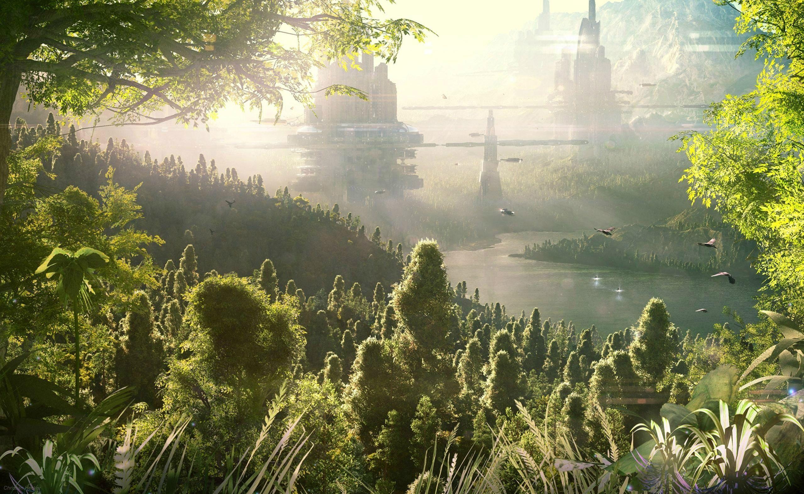 Science Fiction | Landscape wallpaper