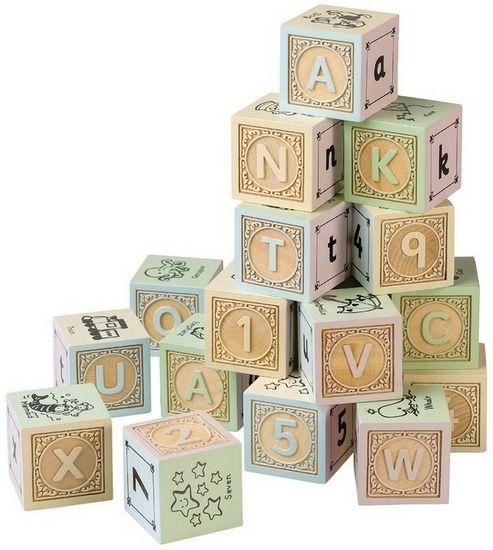 Pastel Alphabet Blocks Others Alphabet Blocks Baby Blocks