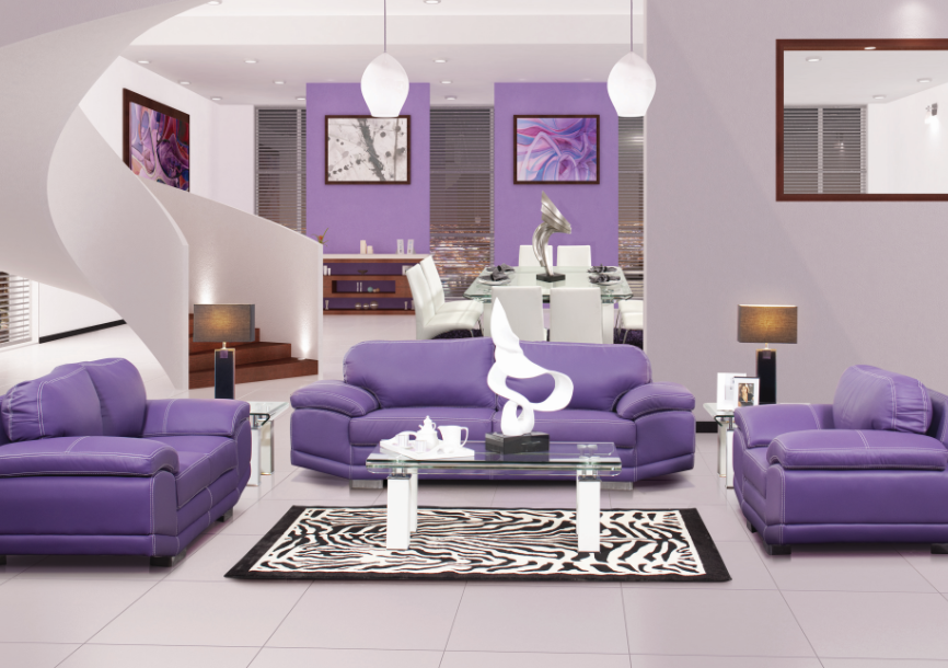 decoraci n en color morado tendencias 2011 pinterest