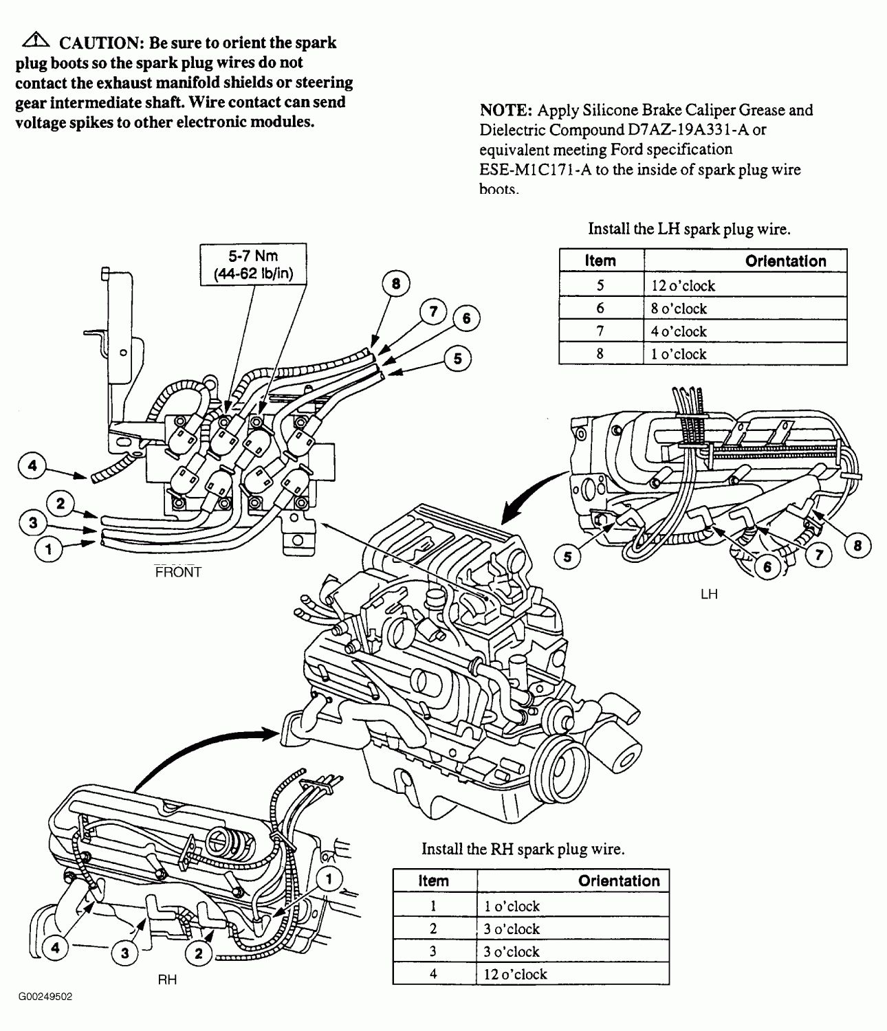 Ford Explorer 40 Firing Order Diagram