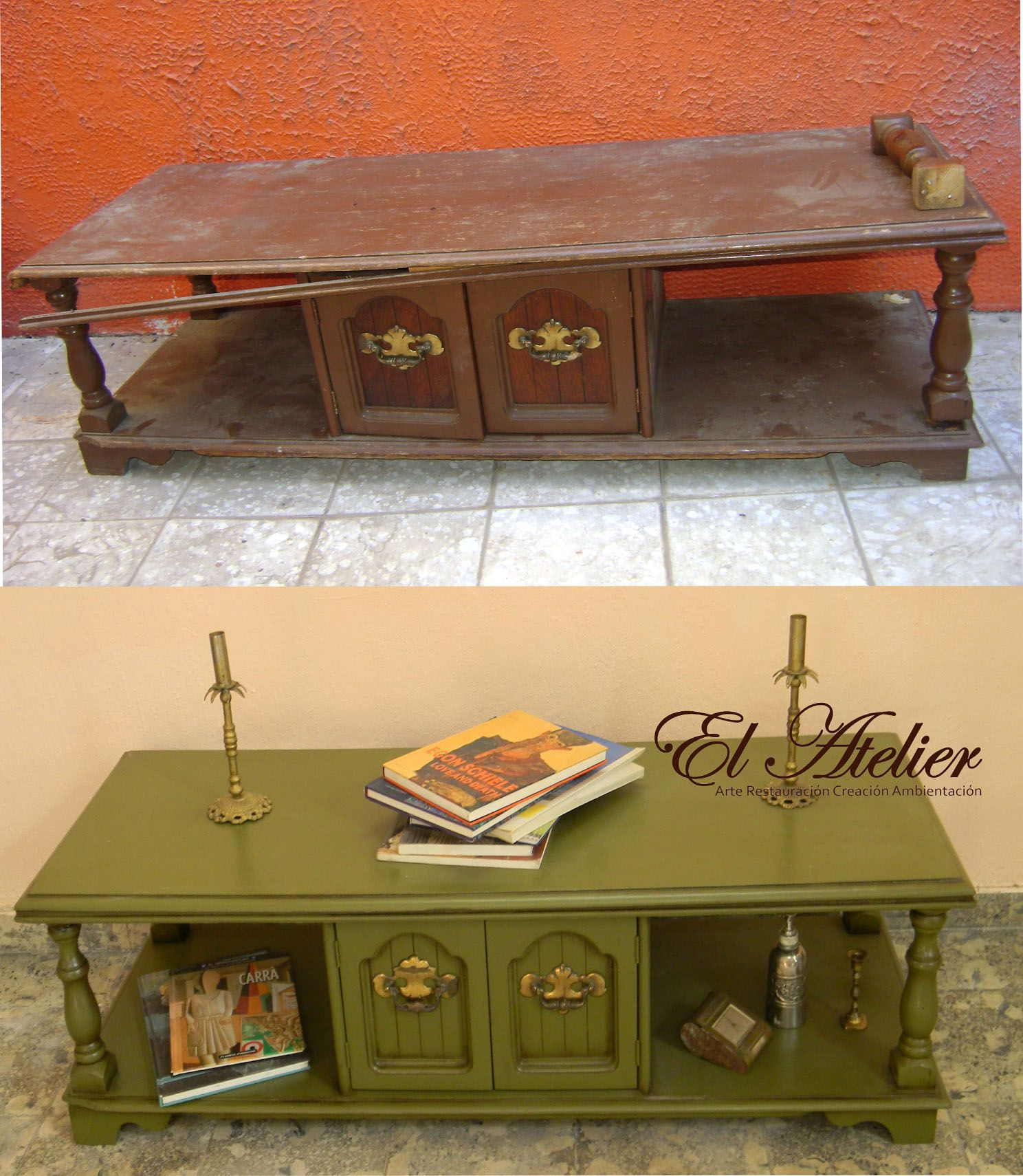 Antes Y Despu S Muebles Restaurados Pinterest Muebles  # Muebles Reformados Antes Y Despues