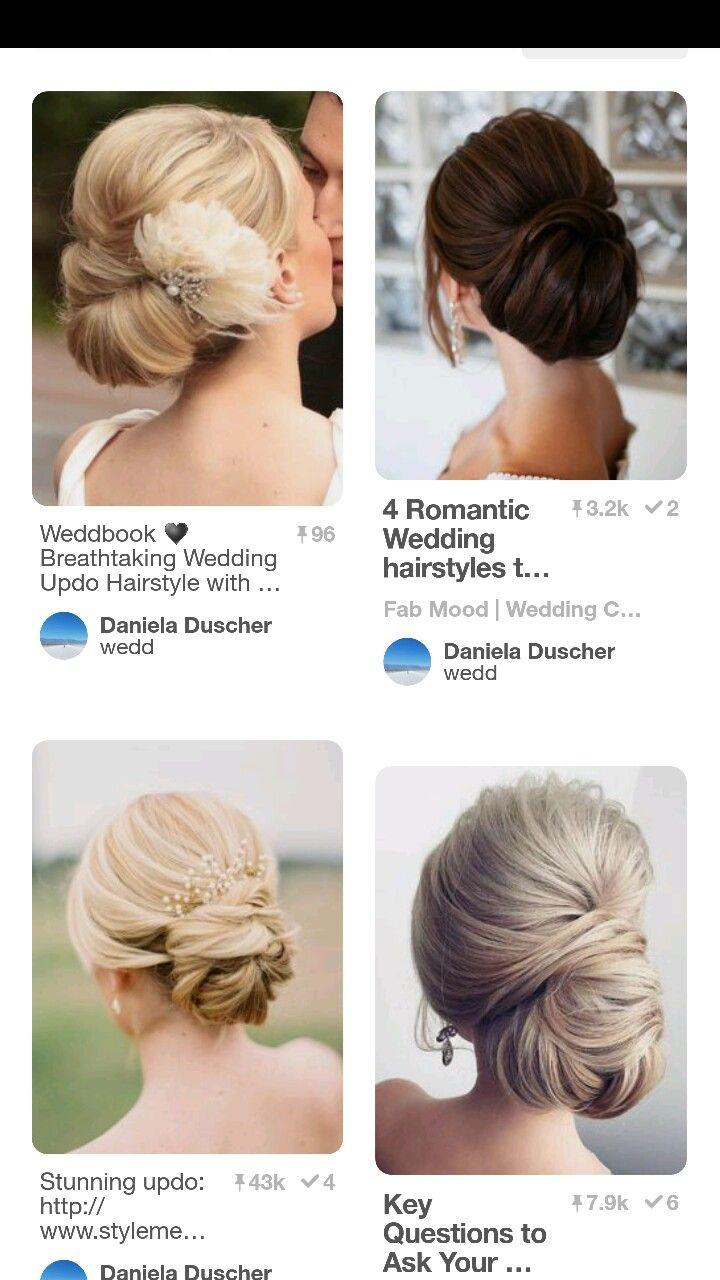 Pin by Barbara Neuner-Angermeier on Wedding Hair | Pinterest