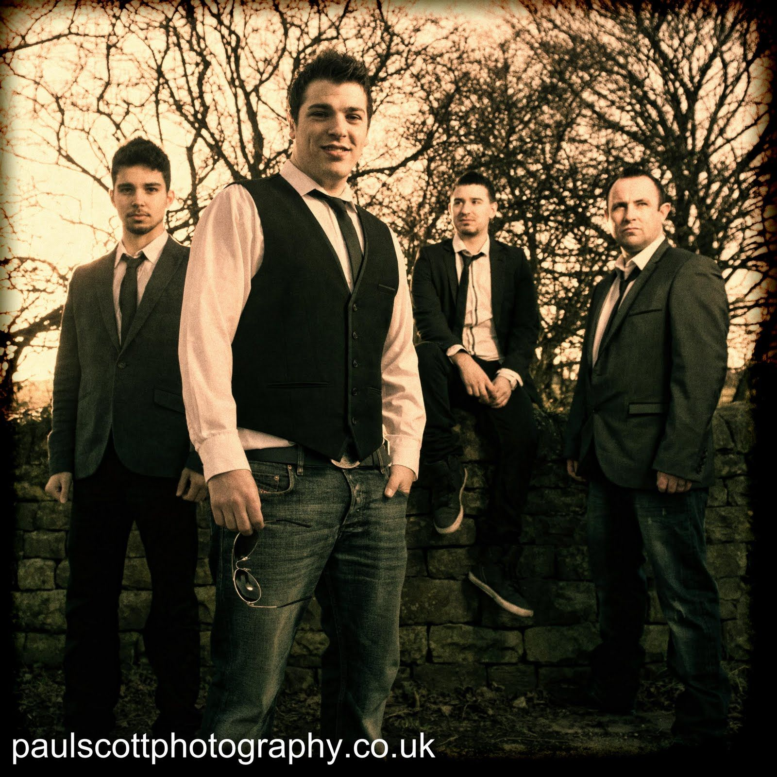 Paul Scott Photography: Resevoir Band Shoot