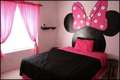 How to Design a Minnie Mouse Bedroom | Mickey & Minnie ...