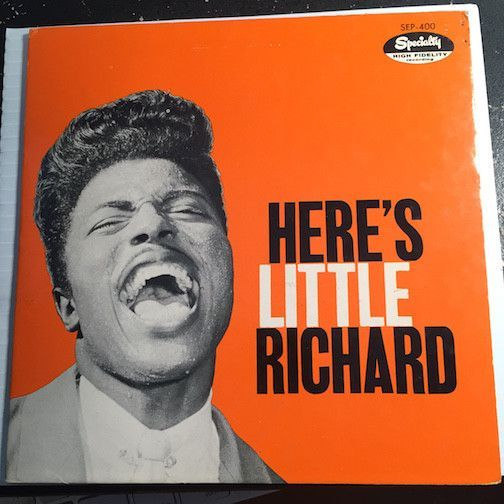 Little Richard Here S Little Richard Ep Long Tall Sally Miss Ann B W She S Got It Can T Believe You Wanna Leave Spec Trip Hop Pop Albums Great Albums