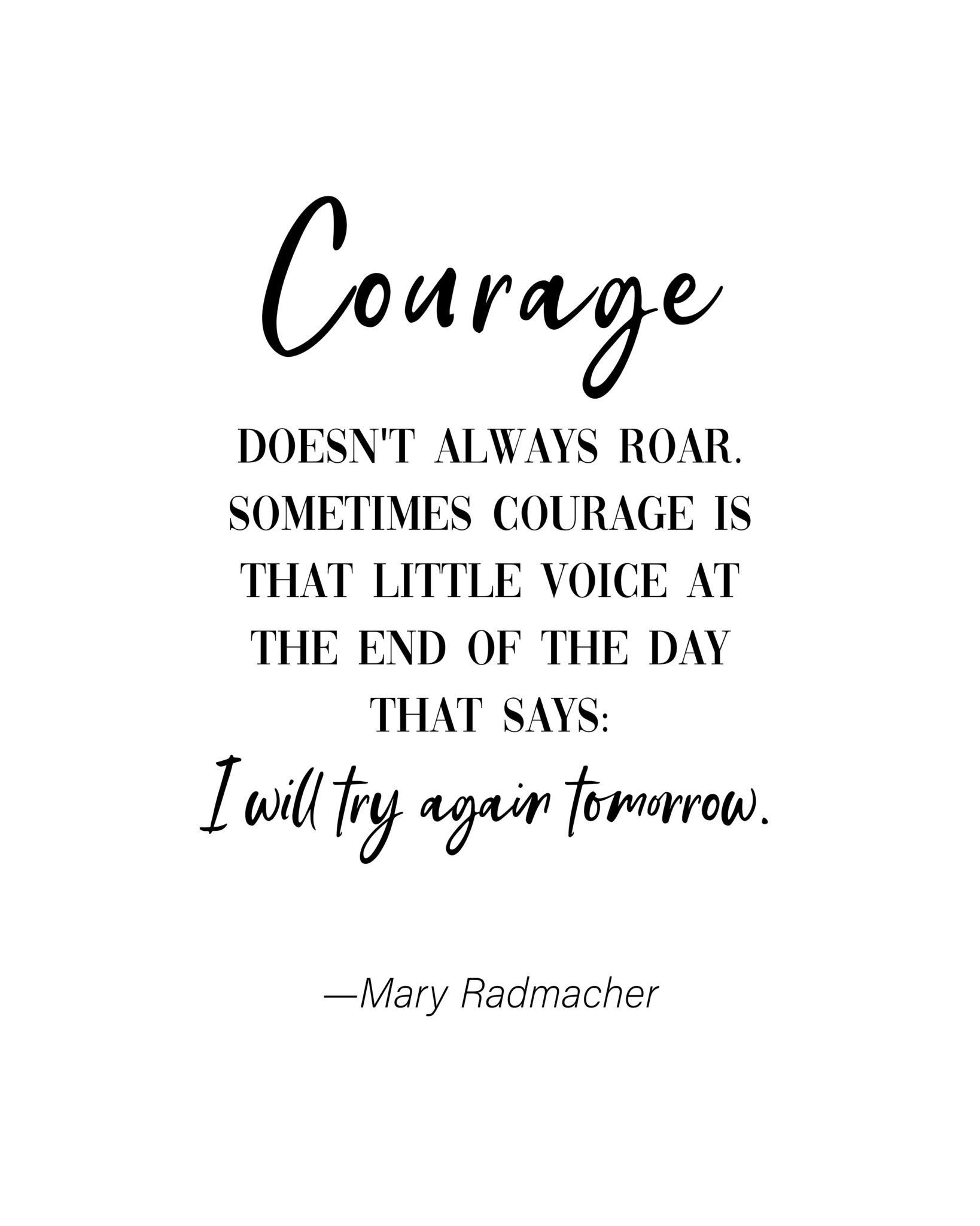 Famous Quotes About Courage