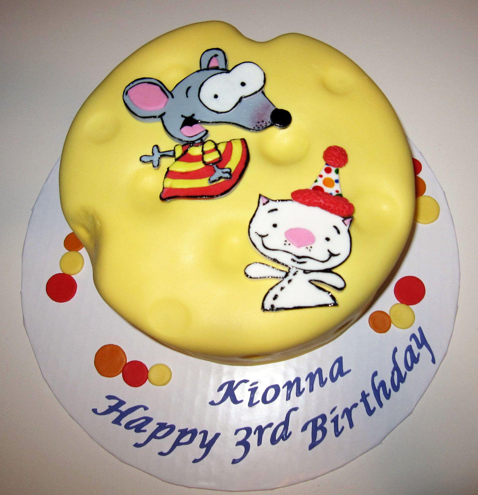 Toopy & Binoo Birthday Cake