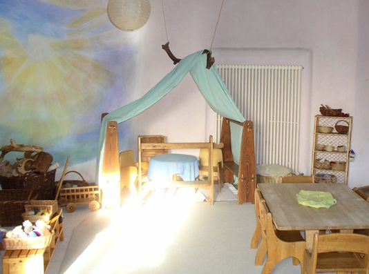 waldorfkindergarten waldorfkindergarten raumgestaltung waldorfkindergarten pinterest raumgestaltung waldorf und kinderzimmer - Kinderzimmer Dekoration In Schulen