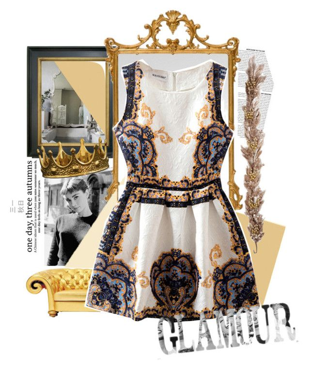 """""""Untitled #3450"""" by lalisgupa ❤ liked on Polyvore featuring Cole & Son, Barbara Cosgrove, ZENTS, women's clothing, women, female, woman, misses and juniors"""