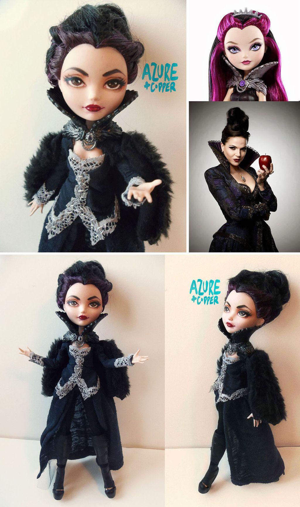 Regina - Custom Raven Queen Repaint by Azure-and-Copper on DeviantArt