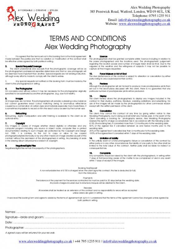 Wedding Venue Contract Template Pinterest Templates Wedding