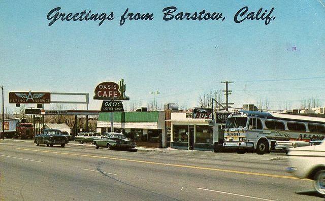 Greetings From Barstow Barstow California Postcard San Bernardino County