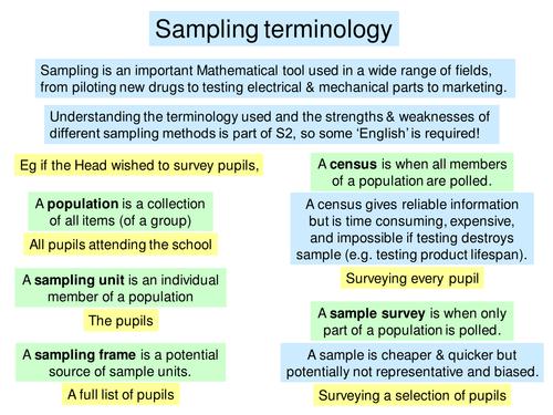 4 Sampling distributions ppt | Maths Higher
