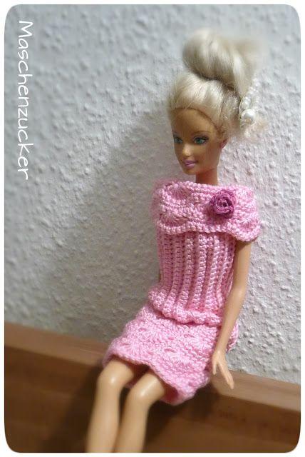 Maschenzucker: Anleitung ist von crochetforbarbie | Barbie ...
