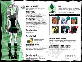 deviantART: More Like Monster High OC: Neeya O'Bansh by *TeaganLouise