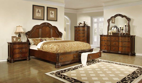 Lifestyle 5390 King Bedroom Set Bedroom Furniture Sets