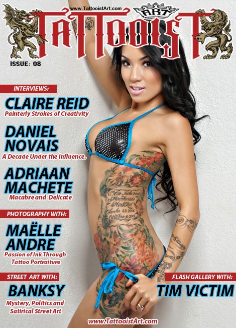 Issue #08 - FREE DOWNLOAD | Tattooist Art Magazine | Tattoo ...