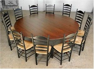 Get The Best Gathering Moment With Your Big Familyusing Large Brilliant Large Round Dining Room Tables Inspiration Design