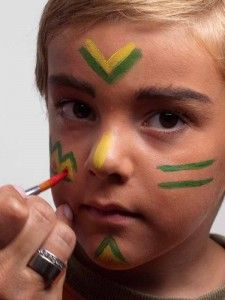 Photo of Indian make-up for children's birthday