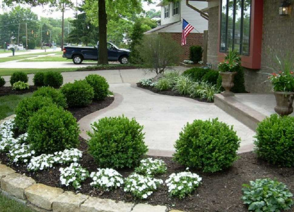 Garden Hill Privacy Around Townhouse Without Northeast Front Grass Front And Backyard Lands Front Yard Landscaping Design Walkway Landscaping Front Yard Garden