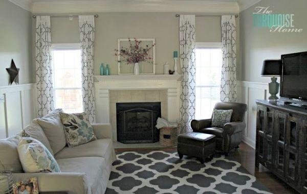 Pewter Benjamin Moore Paint | Benjamin Moore Revere Pewter Gray Living Room  Paint Color | Involving