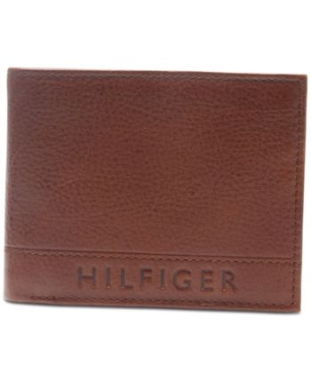 biggest discount the best attitude cheap for discount Tommy Hilfiger Men Rfid Pebbled Leather Wallet | Products in ...