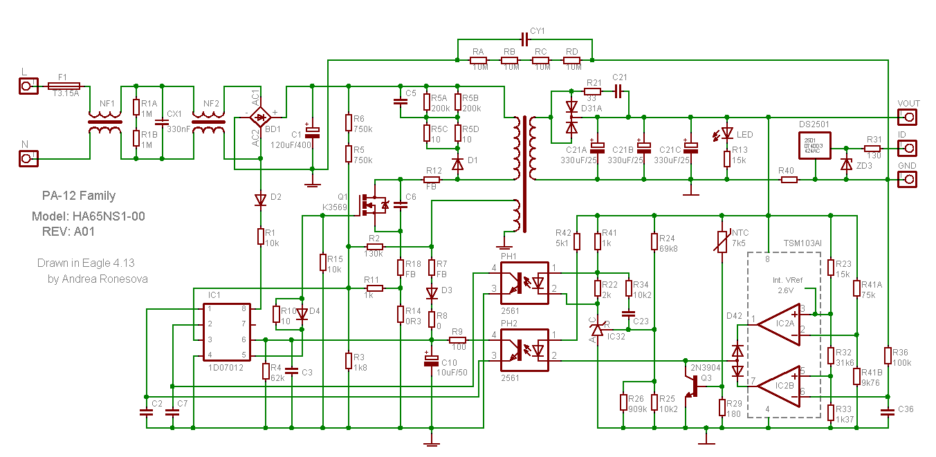 laptop adapter circuit diagram [ 1353 x 661 Pixel ]