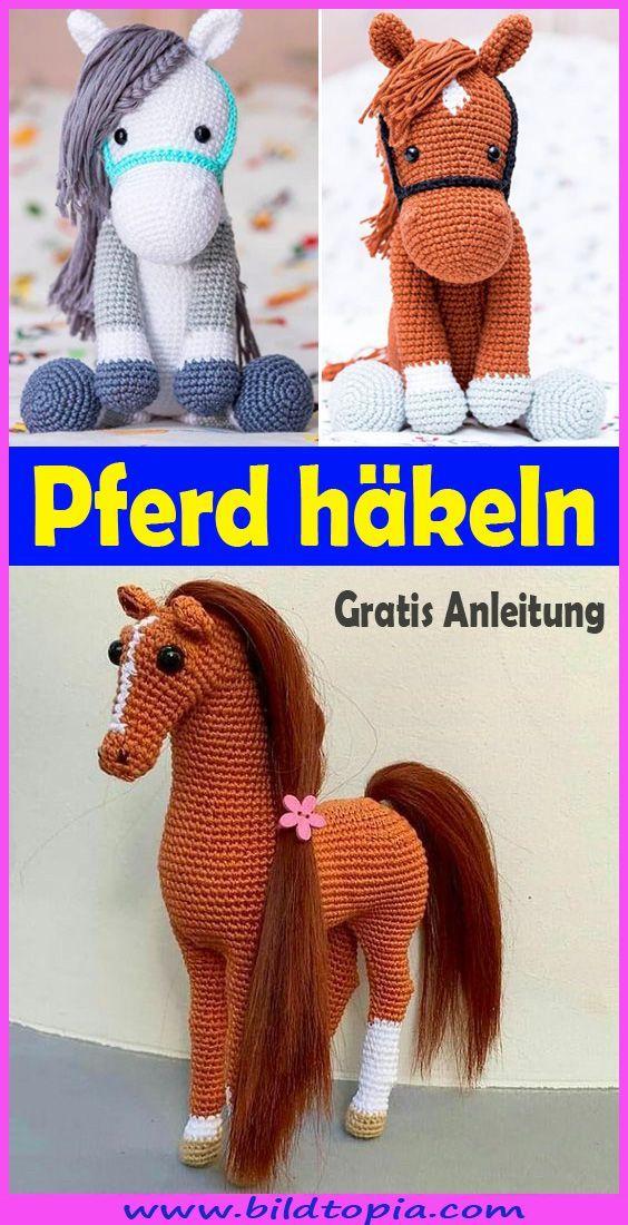 Photo of Häkelpferd – kostenlose und einfache Anleitung