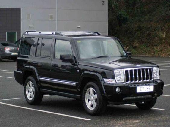 Great Black Jeep mander Jeep