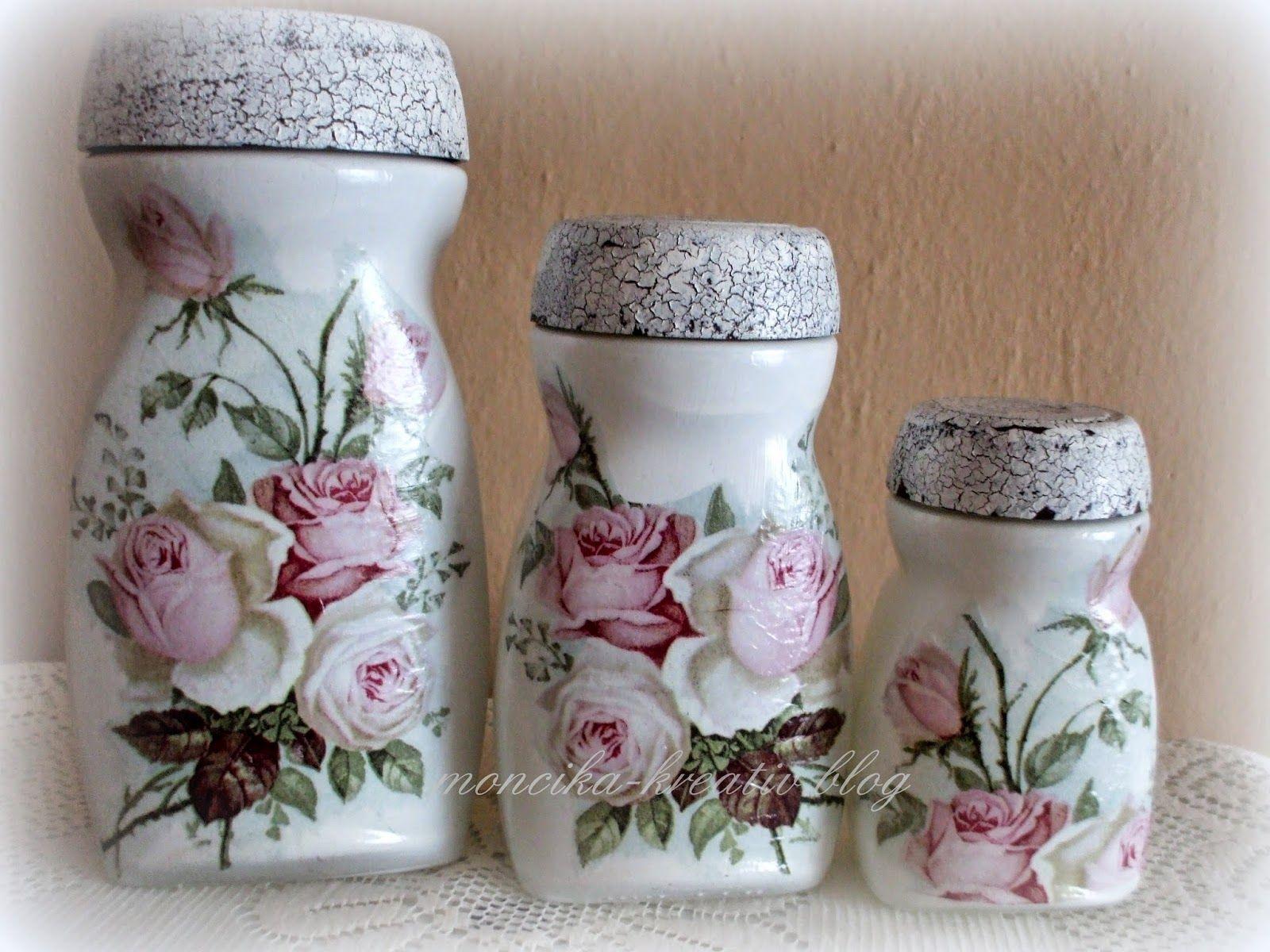 Moncika hobby pinterest - Diy frascos decorados ...