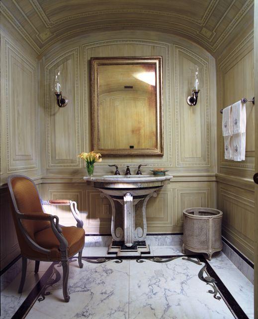 Charlotte moss decorating portfolio designer for Bathroom interior design charlotte nc