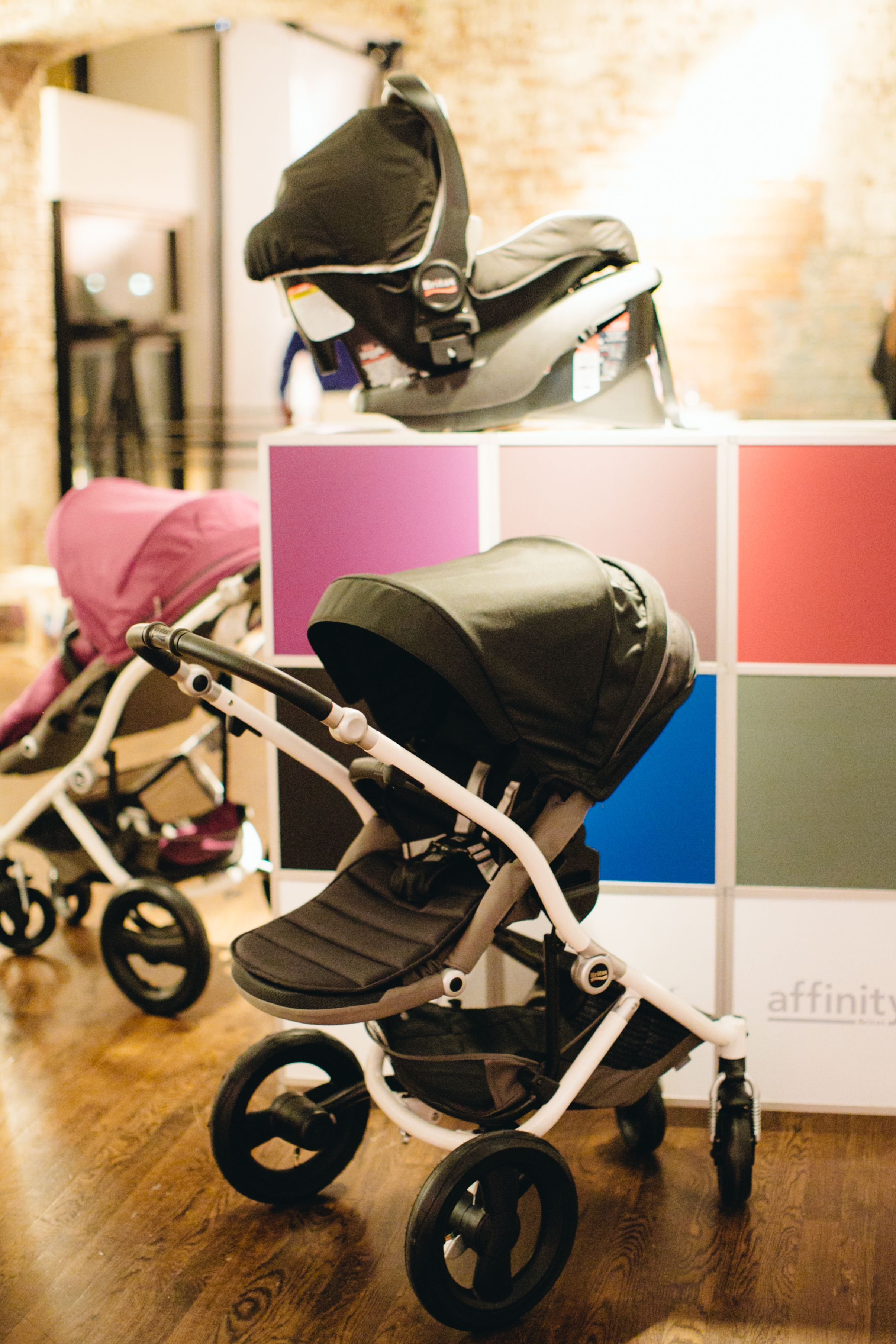 Affinity Stroller by Britax - NYC Launch Event #moms #bloggers ...